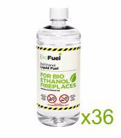 Bio Ethanol Fuel 36L (36x1L bottles)