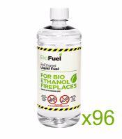 Bio Ethanol Fuel 96L (96x1L bottles)