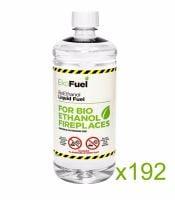 Bio Ethanol Fuel 192L (192x1L bottles)