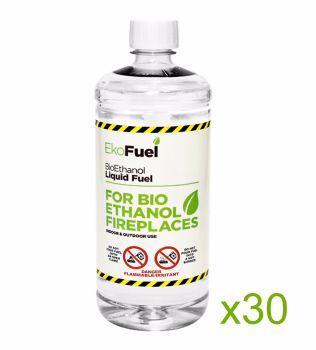 Bio Ethanol Fuel 30L (30x1L bottles)