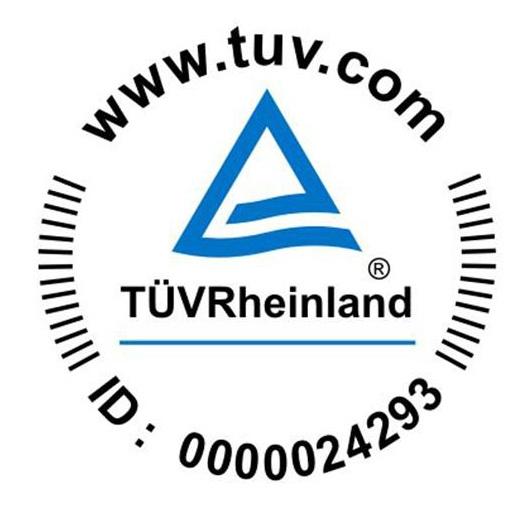 TUV Stamp