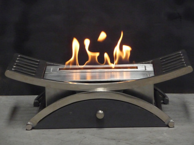 Antalya Electronic Bioethanol Fire Basket
