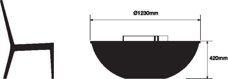 Seville Dimensions