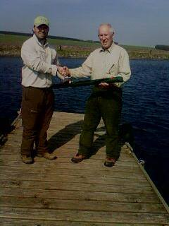 peter hotinger from kelso with hardy demon rod