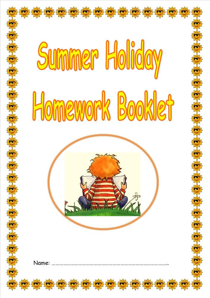 Summer Holiday Activity/Homework Booklet for KS2 and Lower KS2 ...