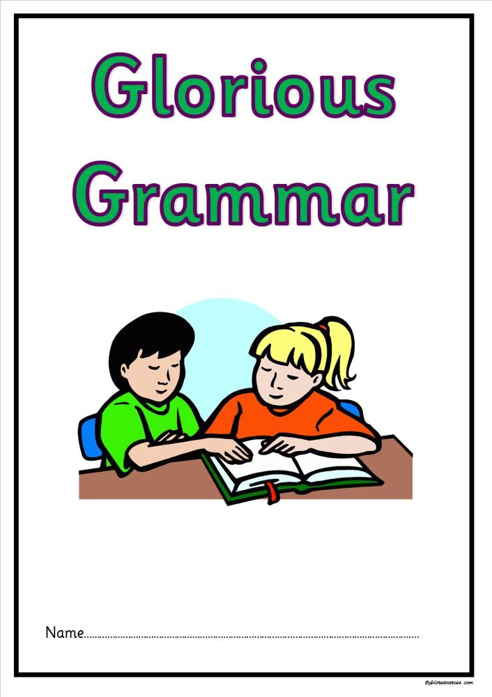 KS2 Grammar Activity Booklet.  A fabulous booklet of grammar activities for