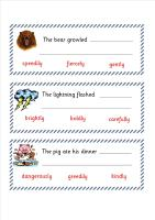 A super set of independent literacy/guided reading activities for KS1 children (Pack 2).