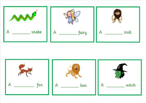 An excellent set of guided reading activities for year 1 children.