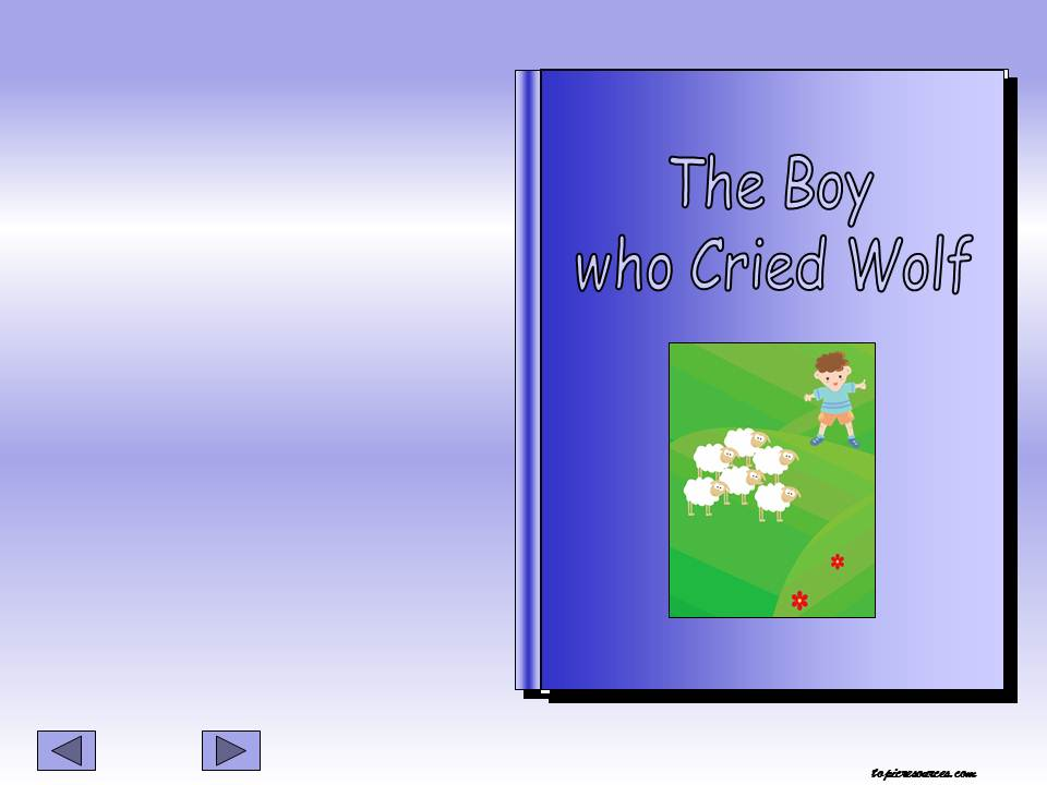 The Boy Who Cried Wolf Story Pack