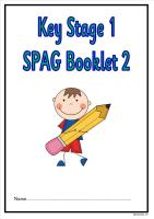 SPAG activity booklet2 for KS1 children