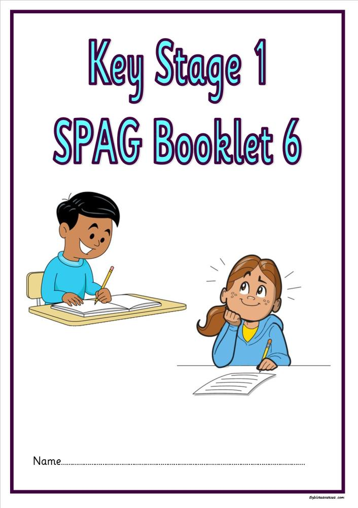 SPAG activity booklet6 for KS1 children