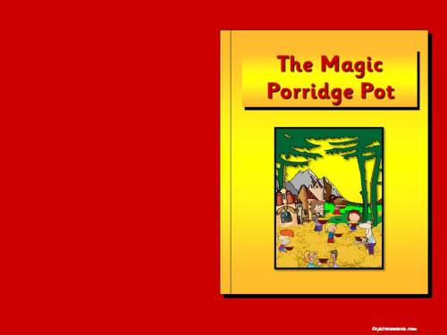 The Magic Porridge Pot Story Pack