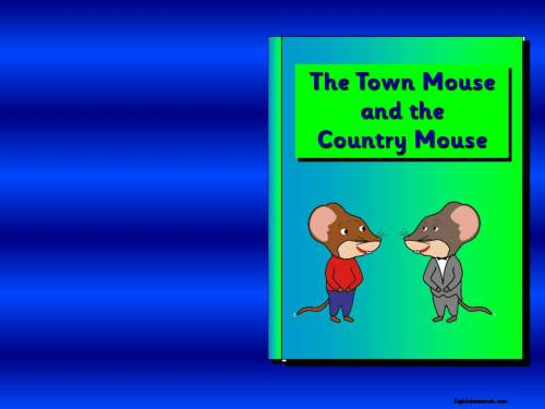 The Town Mouse and the Country Mouse Story Pack