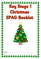 KS1 Christmas SPAG activity booklet 1. A super set of spelling, punctuation and grammar activities.