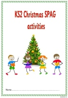 KS2 Christmas SPAG activity booklet. A highly topical set set of spelling, punctuation and grammar activities.