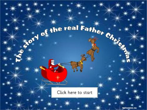The Real Santa Claus and other Christmas activities