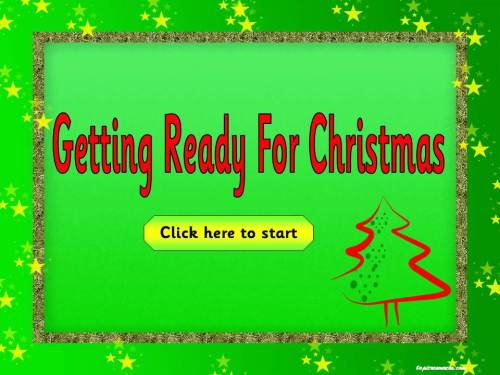 Christmas Topics Package 2-Getting Ready for Christmas