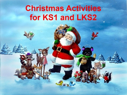 EYFS, KS1, KS2, SEN, Christmas worksheets and activities