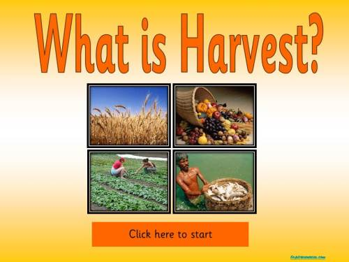 Harvest Topic Package