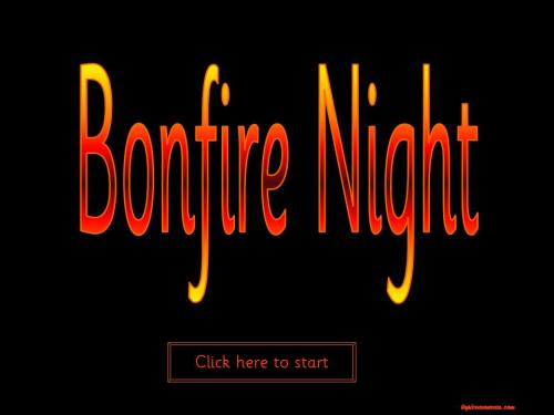 Bonfire Night Topic Package