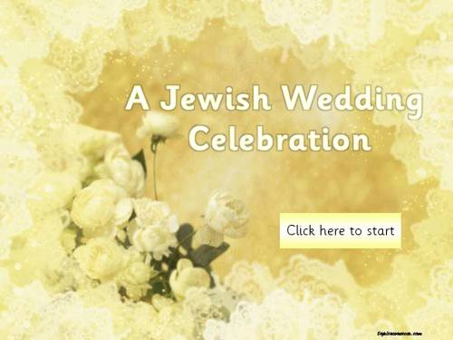Jewish Wedding Topic Pack
