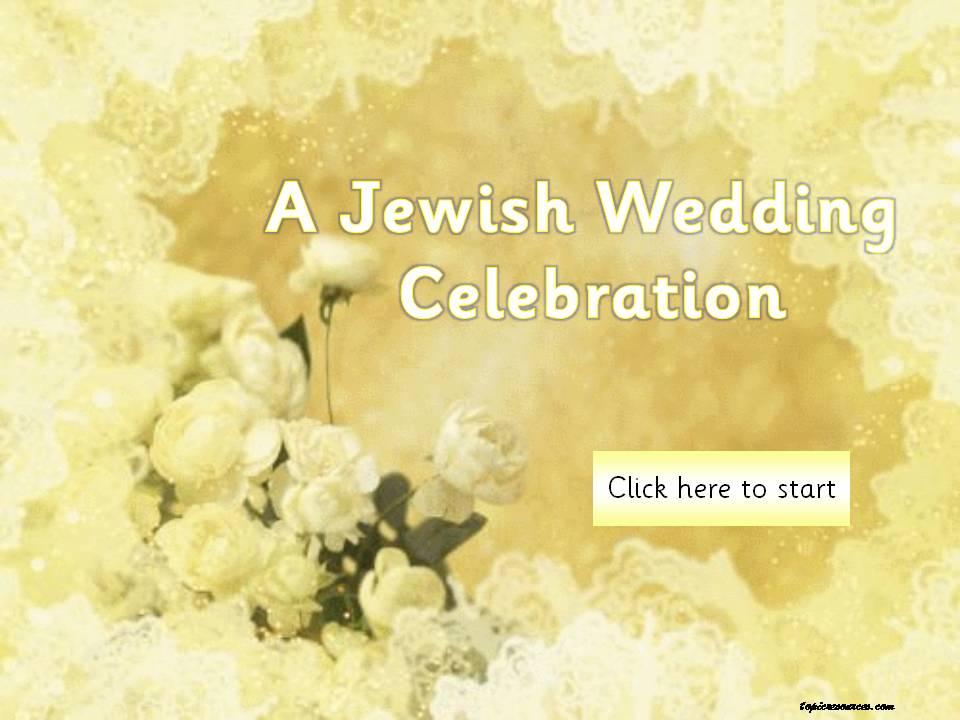 Jewish Wedding Topic Pack