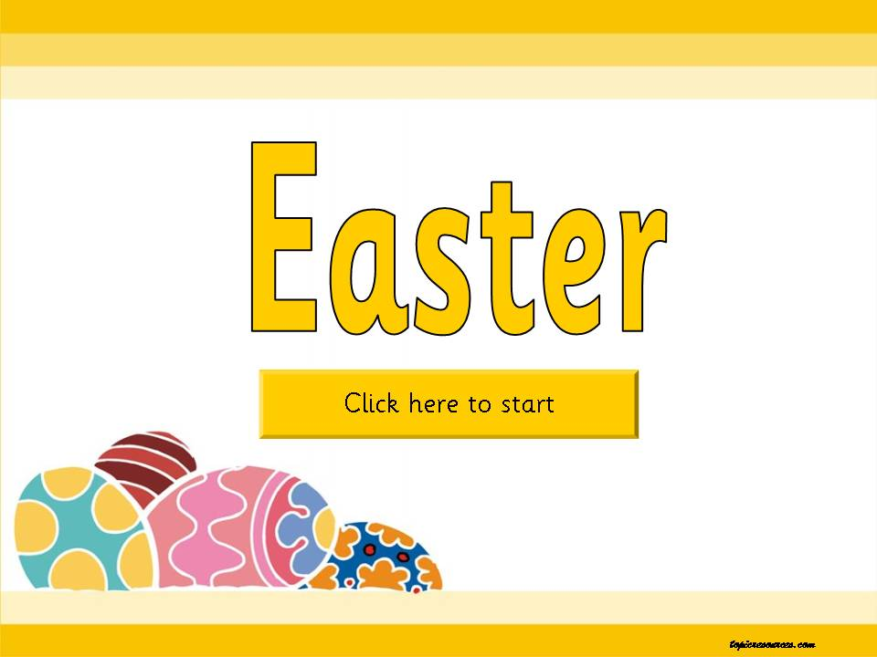 EYFS, KS1, SEN, IPC Easter resources, festivals, teaching powerpoints