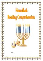 Hanukkah Reading Comprehension Booklet (SATS style).