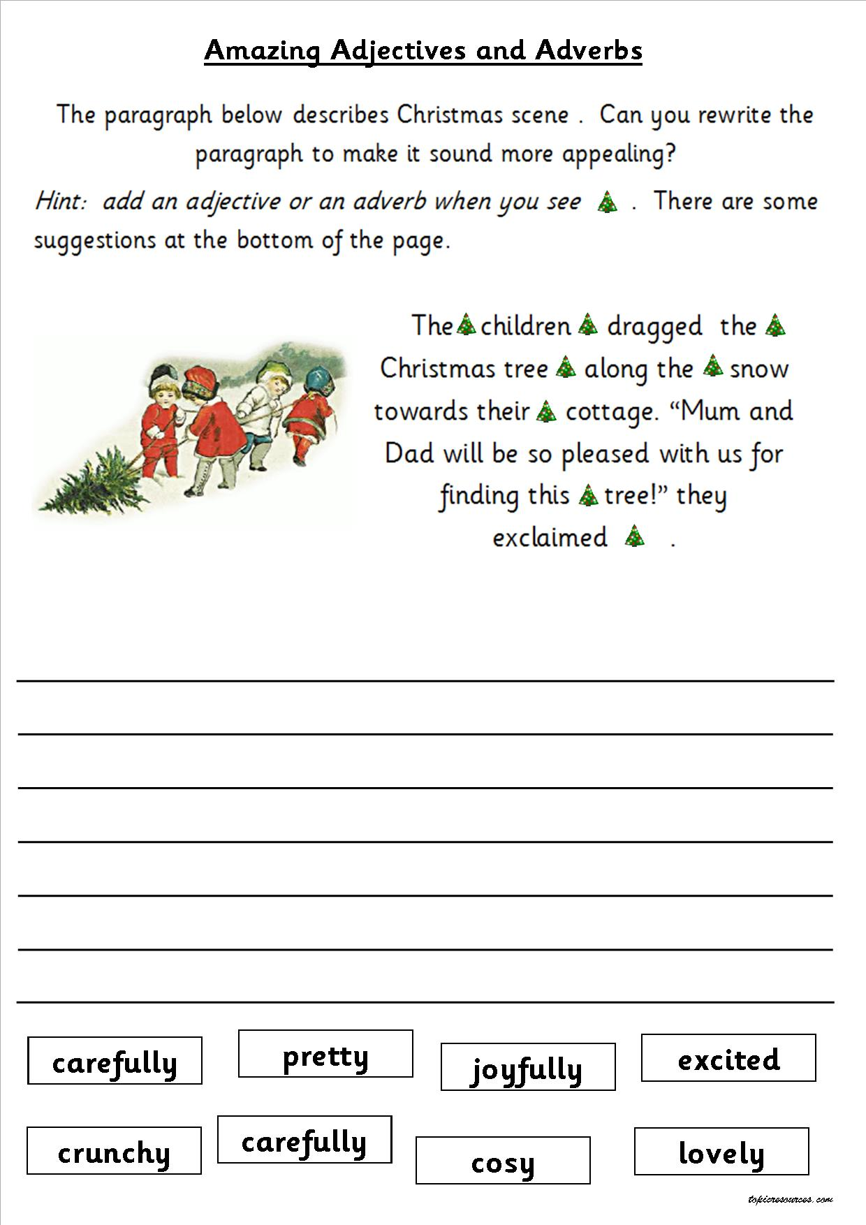 KS1 KS2 SEN IPC Christmas SPAG Activity Booklets