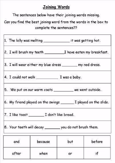 Year 2 spag homework for kids