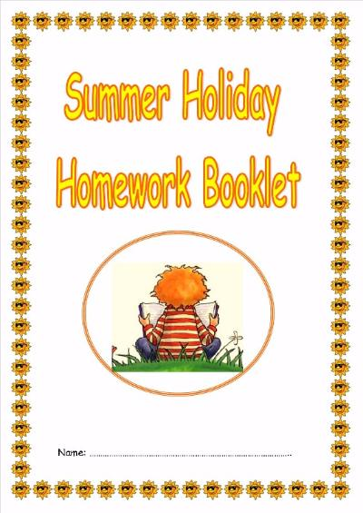summer holiday activity booklet1