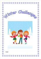 Winter Weather Activity Pack/Homework Booklet for KS2