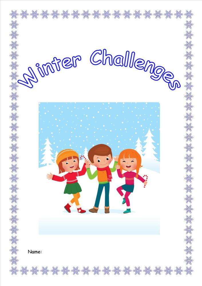 Winter Weather Activity Pack/Booklet for KS2