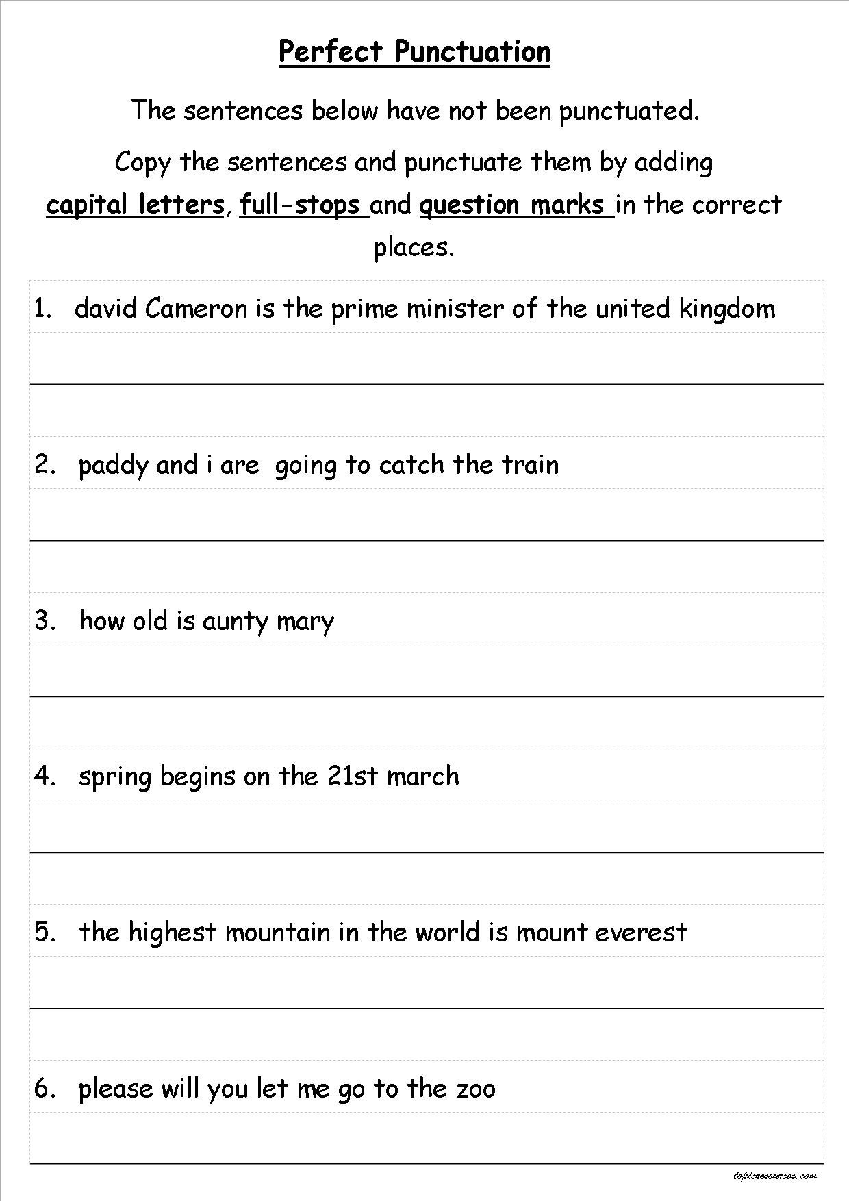 topical resources independent writing activities