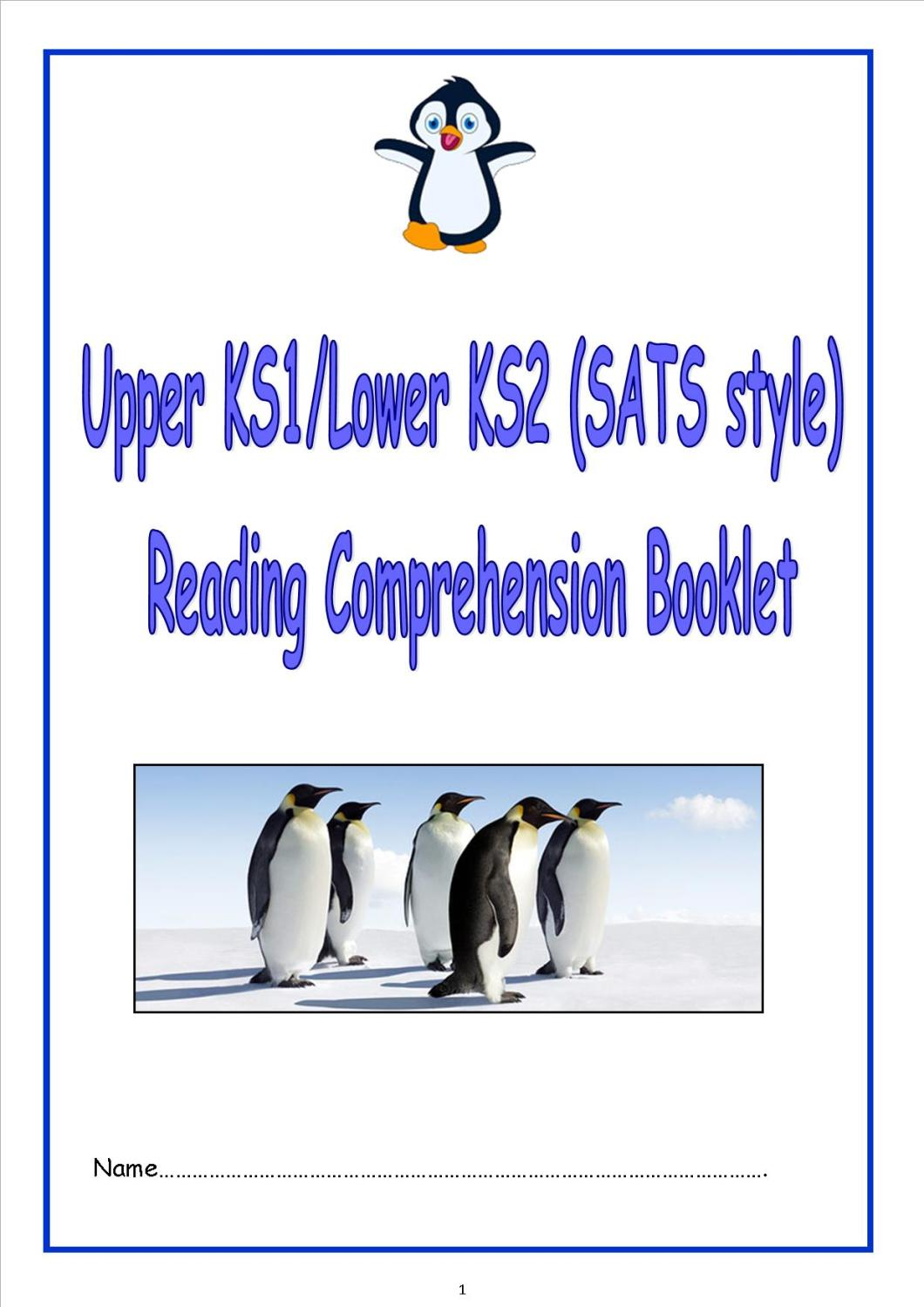 Lower KS2 fiction and non fiction SATS style reading comprehension booklet