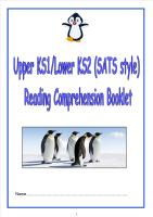 KS1/LKS2 SATs style reading comprehension booklet (1).