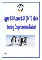 KS1/LKS2 SATs style reading comprehension booklet (1).