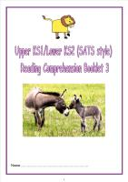 KS1/LKS2 SATs style reading comprehension booklet (3).