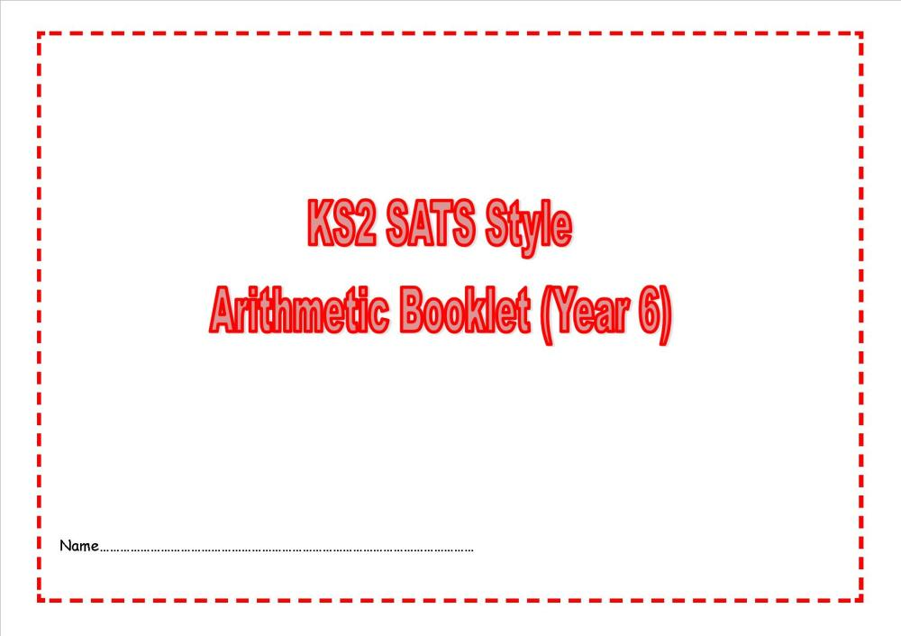 SATs style maths practice papers2 2014