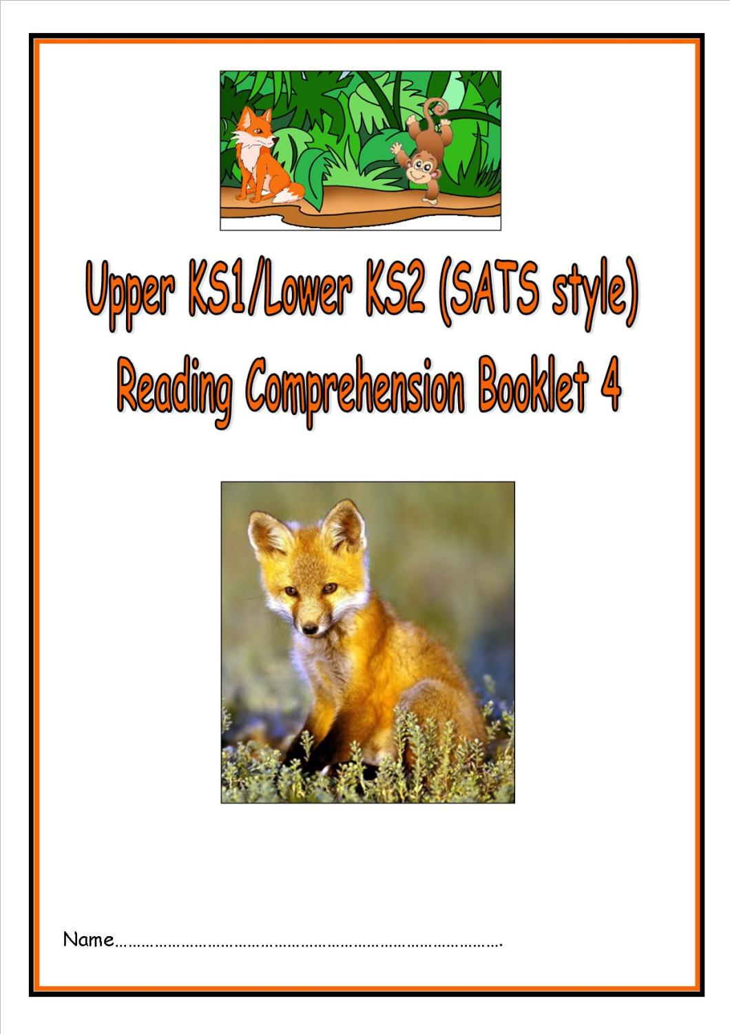 New KS1/LKS2 SATs style reading comprehension booklet (3).