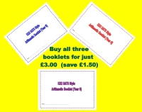 Buy three Year 6 SATs style arithmetic booklets for just £3.00 (saving £1.50!)