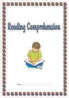 Lower KS2 fiction and non fiction SATS style reading comprehension booklet 3
