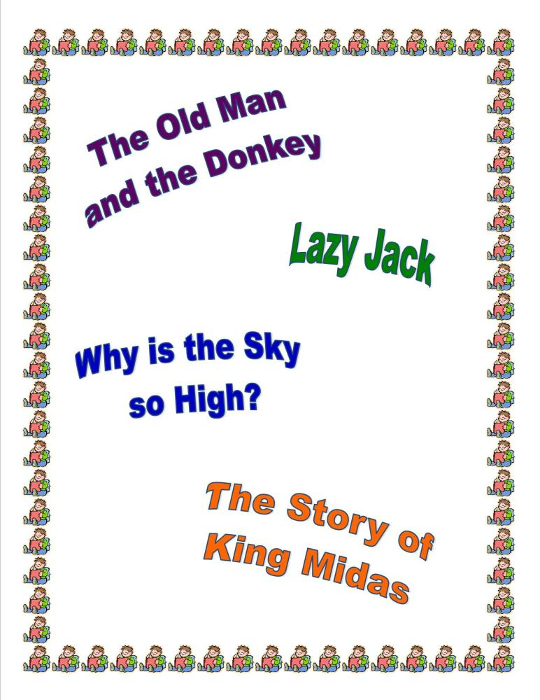 KS1/LKS2 reading comprehension papers based on four engaging stories.