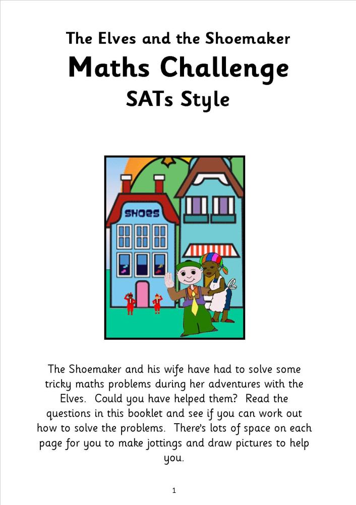 SATs style maths practice papers1 2014