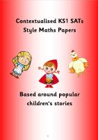SATs style maths pack 2 for KS1/Year 2