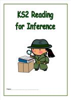 KS2 Reading for Inference Booklet2