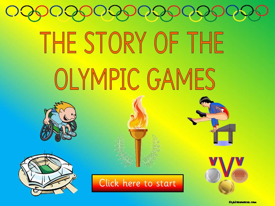 The Story of the Olympics Topic Package