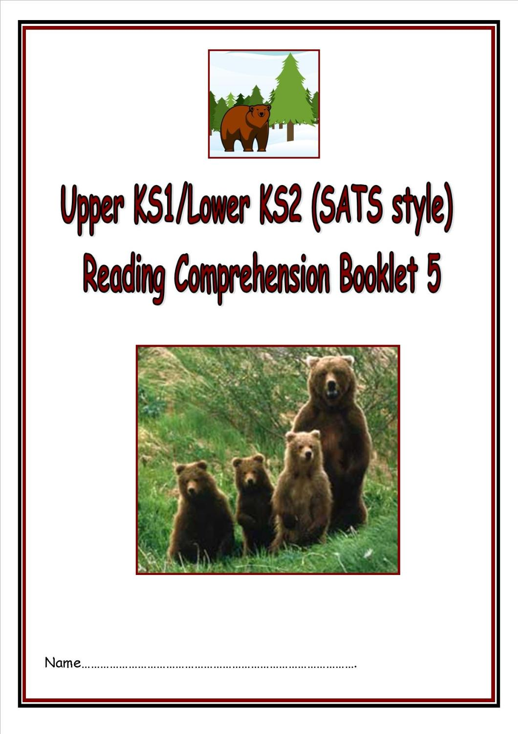 New KS1/LKS2 SATs style reading comprehension booklet (4).