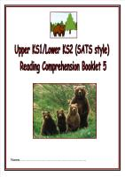 KS1/LKS2 SATs style reading comprehension booklet (5).