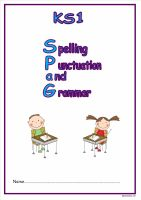 KS1 SPAG activity booklet 11